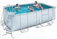 Каркасный бассейн Bestway 56244 new (420х200х120, 8700 л, прямоугольный)