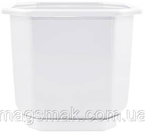Алеана Вазон c подставкой Дама 0.8х0.8 см (белый)