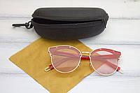 Очки с футляром розовые (F1071-4), фото 1