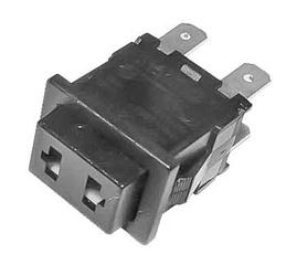 Выключатель освещения духовки для плиты Zanussi 3570087035