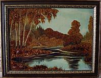 Картина из янтаря. Пейзаж 14