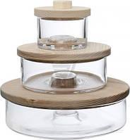 Набор емкостей для хранения Connect Mini Trio 3 шт. G1368-00-301 LSA