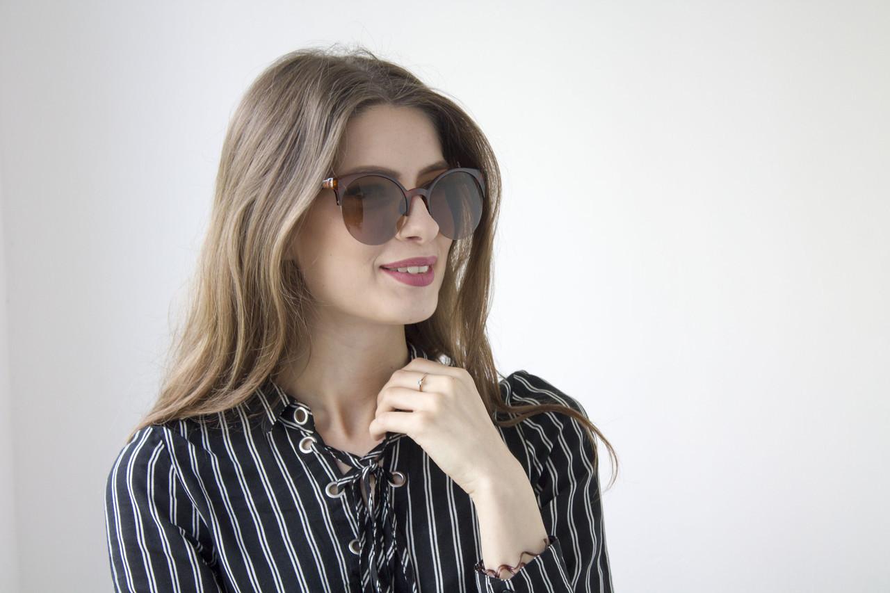 Солнцезащитные женские очки (9917-2)  Реплика