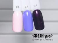 Гель-лак Summer Limited № 26 FRESH Prof