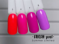 Гель-лак Summer Limited № 6 FRESH Prof