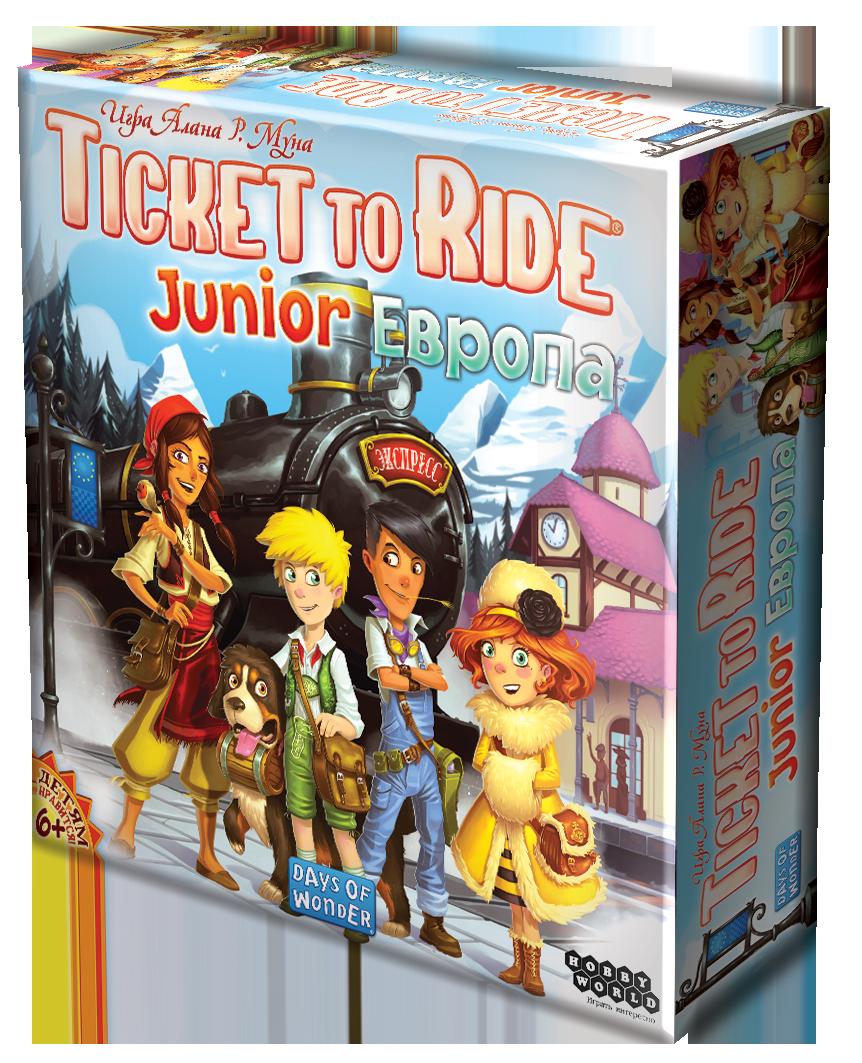 Ticket to Ride Junior: Европа настольная игра
