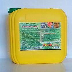 Препарат 30Д, 10 л — Инсектоакарицид, защита сада от вредителей и клещей