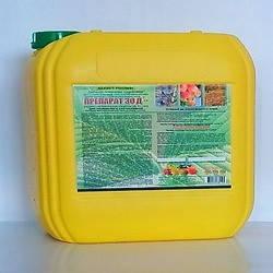 Препарат 30Д, 10 л — Инсектоакарицид, защита сада от вредителей и клещей, фото 2