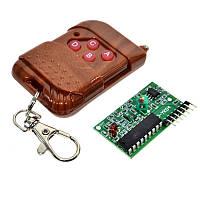 Дистанционное управление IC2262/IC2272 315МГц набор приёмник и передатчик для Arduino