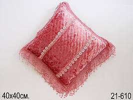 Подушка декоративная 40 х 40 см 21-610