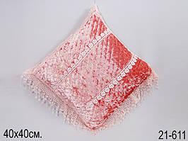 Подушка декоративная 40 х 40 см 21-611