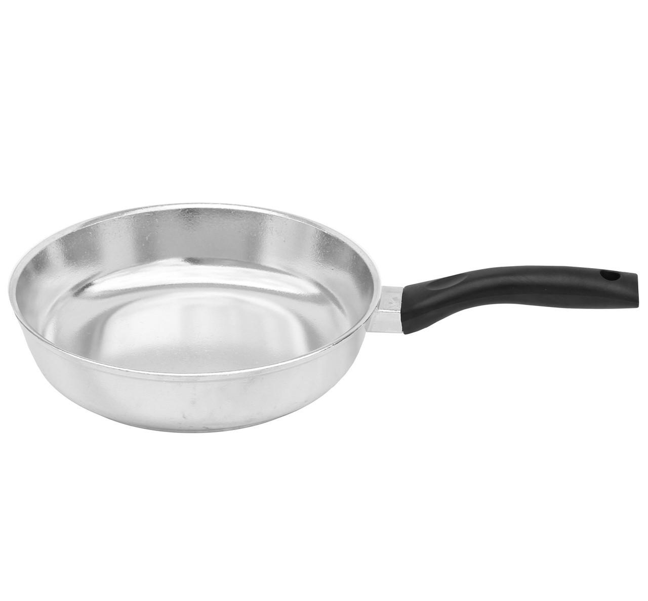 Сковорода алюминиевая блеск 22см Биол 2207БК