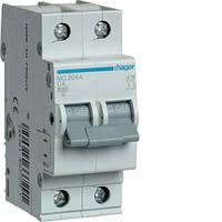 Автоматический выключатель 2P 6kA C-4A 2M