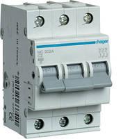 Автоматический выключатель 3P 6kA C-1A 3M