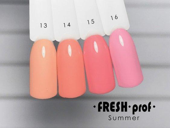 Гель-лак Summer Prof № 16 FRESH Prof