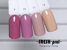 Гель-лак Twenty Five № 10 FRESH Prof