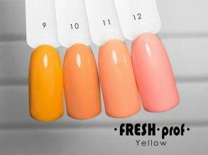 Гель-лак Yellow № 9 FRESH Prof