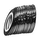 Стрічка на Липкій Основі 1 мм Чорного Кольору для Дизайну Нігтів ., фото 2