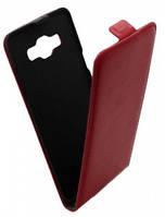 Чехол книжка для Samsung A500 (красная).