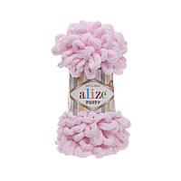 Alize Puffy (Ализе Пуффи) детский розовый №31 (пряжа, нитки для вязания руками)