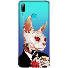 Чехол для Huawei P Smart 2019 Mister Cat