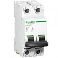Автоматический выключатель постоянного тока C60H-DC, 2P, 1A, C