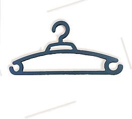 Плечики вешалка пластиковые для одежды (белый или черный)