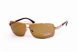 Стеклянные коричневые очки 2456-2