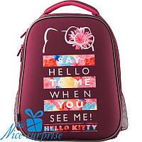 Ортопедический каркасный рюкзак для девочки Kite Hello Kitty HK19-531M, фото 1