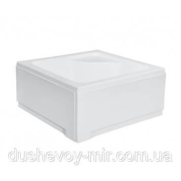 Поддон квадратный IGOR 90х90х24 / 35 см с сиденьем + ноги