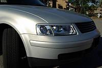 Накладки на фары (реснички) для Volkswagen Passat B5 3B (98-00)
