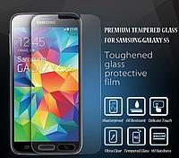 Противоударное стекло на Samsung S5 на дисплей, фото 1
