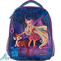 Ортопедический каркасный рюкзак для девочки Kite Wood fairy K19-531M-2