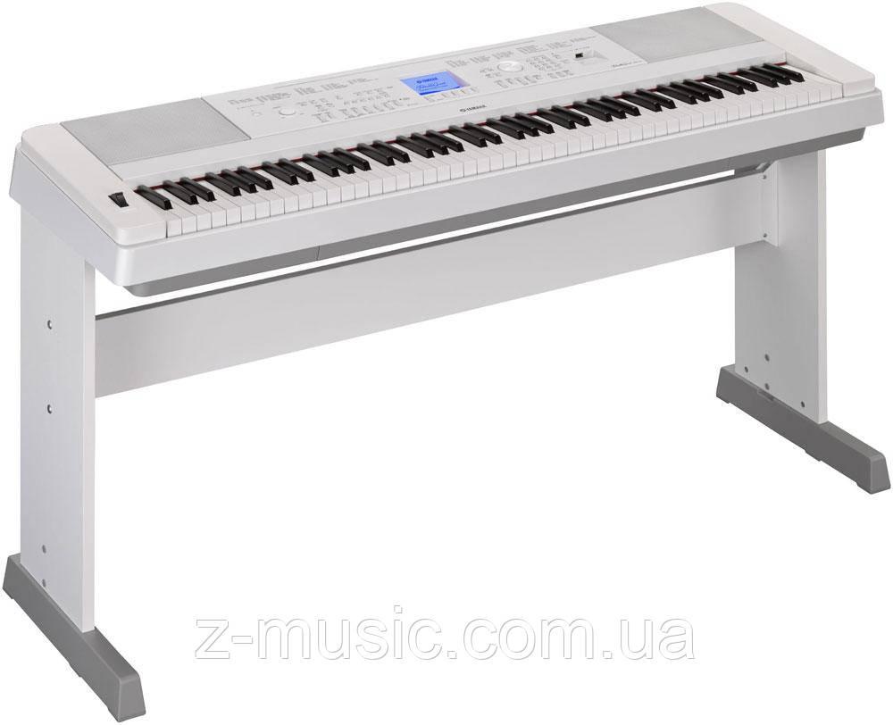 Синтезатор YAMAHA DGX-660WH