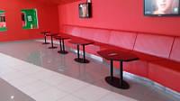 Изготовление мягкой мебели по индивидуальным проектам для кафе