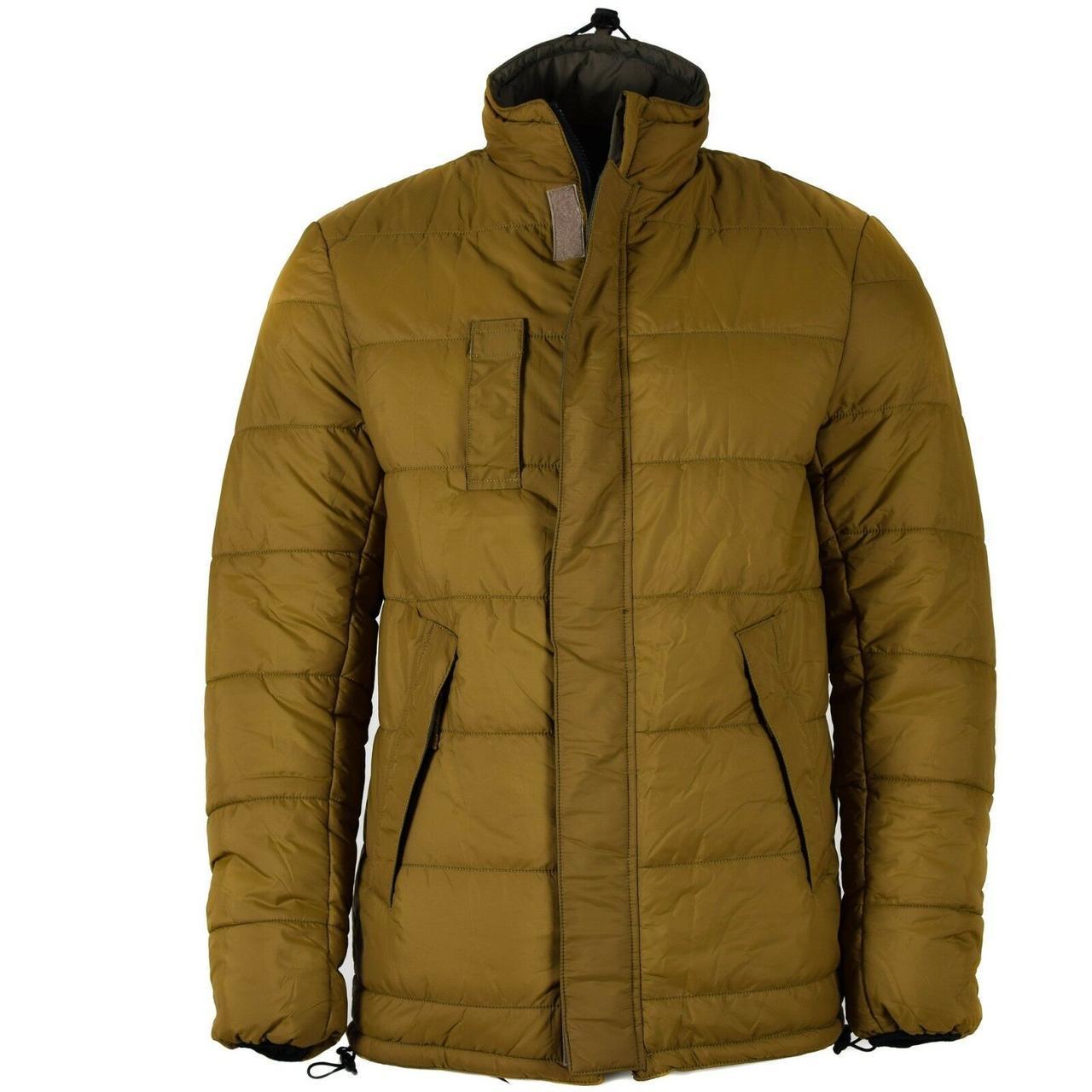 Реверсивная куртка армии Недерландов олива/койот