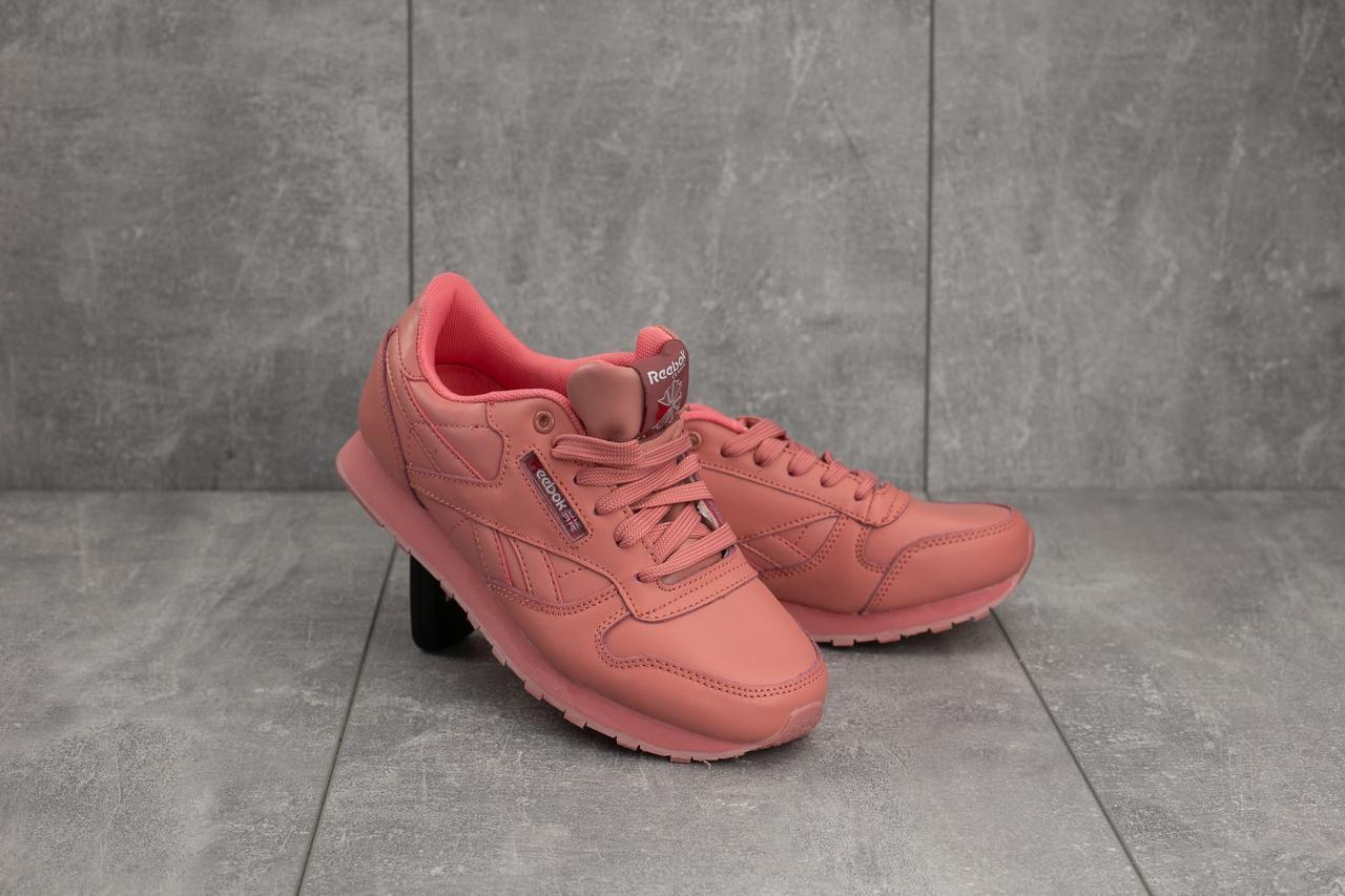 Кроссовки G 7168 -14 (Reebok Classic) (весна/осень, женские, искусственная кожа, розовый)