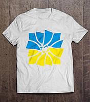 """Футболка   """"З Україною в серці""""  , фото 1"""