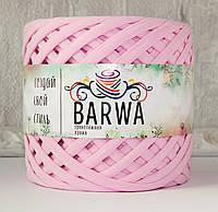 Трикотажная пряжа BARWA standart 7-9 мм, Светло-розовый (light pink)