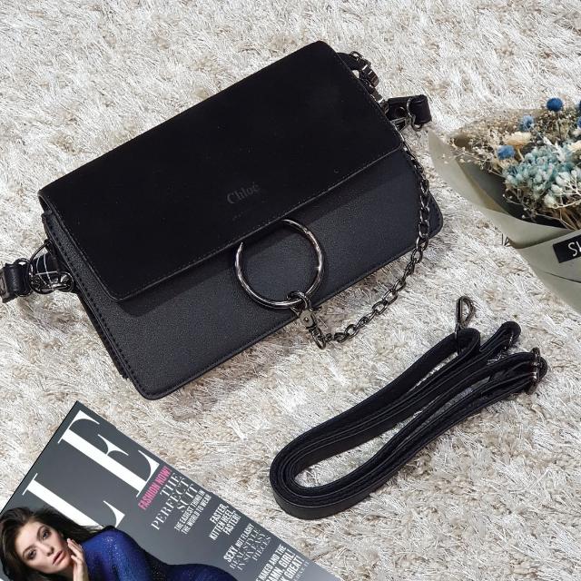 6c41e899e79e Брендовая маленькая сумка клатч черный замш: продажа, цена в ...