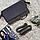 Маленькая сумка - клатч женский замшевый серый 0271-208, фото 6