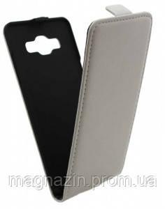 Чехол книжка для Samsung A500 (белый) А5.