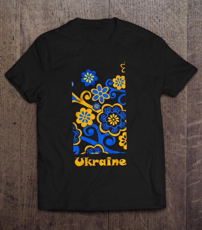 Патріотична Футболка Україна Ukraine