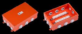 Коробка 250х165х70 огнестойкая Е90 металл FLAMEBOX 250 22x6мм2 Абсел