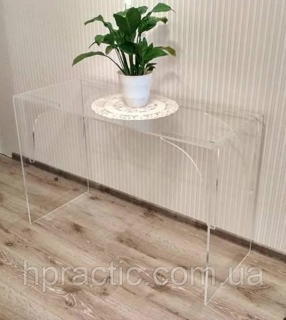 Стол из оргстекла (акрил) 1000х400х750