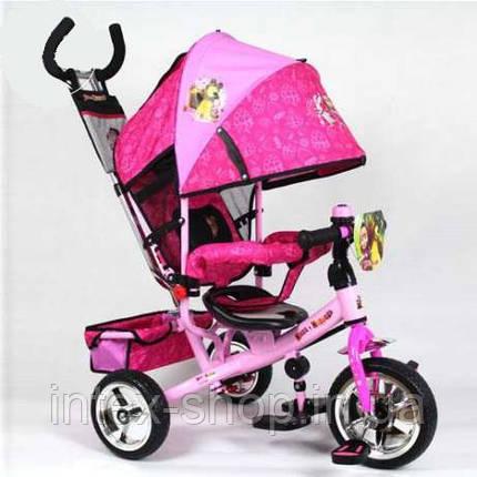 Детский трёхколёсный велосипед  MM 0156-02, фото 2