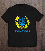 Патріотична Футболка Слава Україні, фото 1