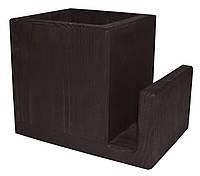 Лоток для столовых приборов, Пранзо, подставка под ложки вилки, цвет - венге