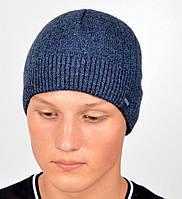 Теплая мужская шапка на флисе