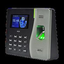 Биометрический терминал УРВ ZKTeco K20